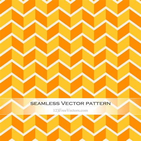 pattern yellow and orange orange and yellow zig zag seamless pattern 123freevectors