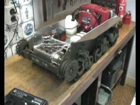 rc gas boat cg rc tank cg tank transmission in 1 6 scale tank stuart