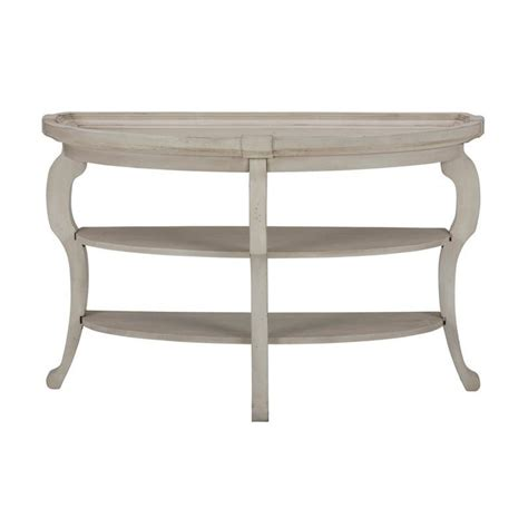 cream sofa table jofran sebastian demilune sofa table in antique cream 540 4