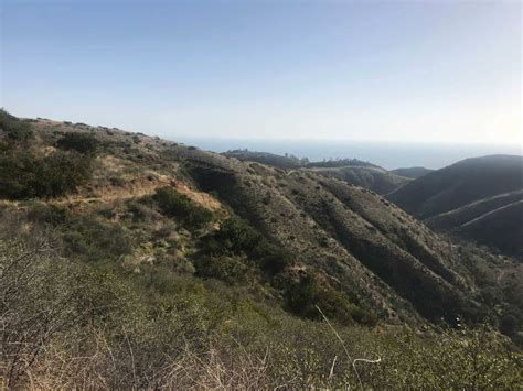 hiking trails malibu solstice trail loop malibu hiking trails santa