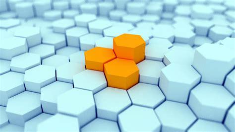 hexagon blocks hd wallpapers desktop wallpaper