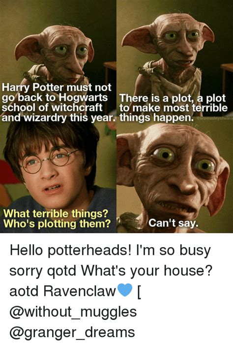 Harry Potter Is Back harry potter must not go back to hogwarts there is a plot