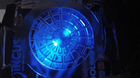 Kipas Cpu Besar kipas laptop coolingpad 1 kipas besar transparan bom