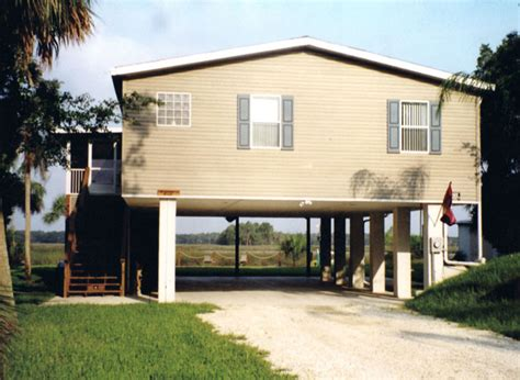 stilt home plans taylor made homes homosassa mobile home stilt homes
