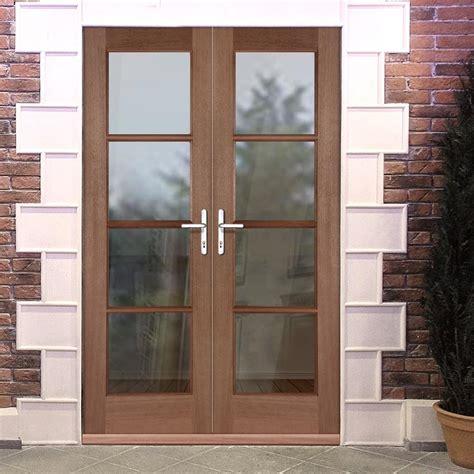 fit doors exterior doors pattern 70 hardwood pair