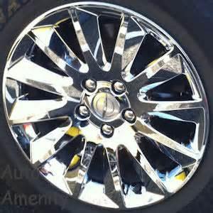 Chrysler 300 Wheel Covers Pr 7300c Chrysler 300 Chrome Wheelskins Chrome Look