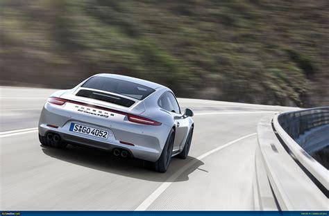 porsche 911 carrera gts black ausmotive com 187 2015 porsche 911 carrera gts revealed