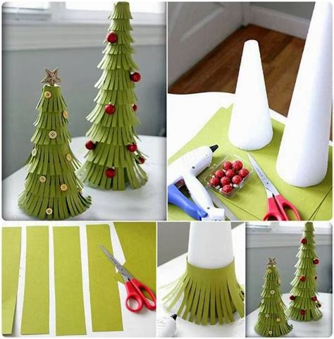 diy paper christmas trees goodiy