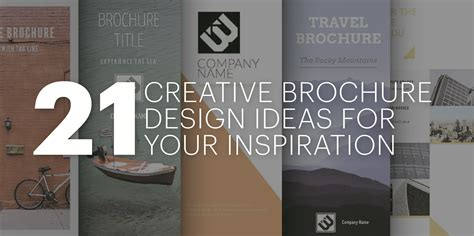 decorating inspiration 21 creative brochure design ideas for your inspiration