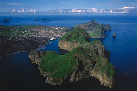 westman islands from reykjavik volcano puffins - Westman Island Boat Tour