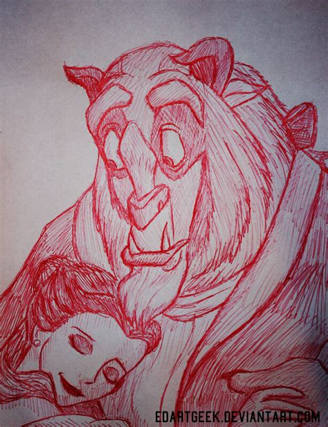doodle beast and the beast doodle by edartgeek on deviantart