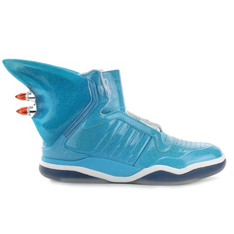adidas shark fin blue shoes w led s s77799 new ebay
