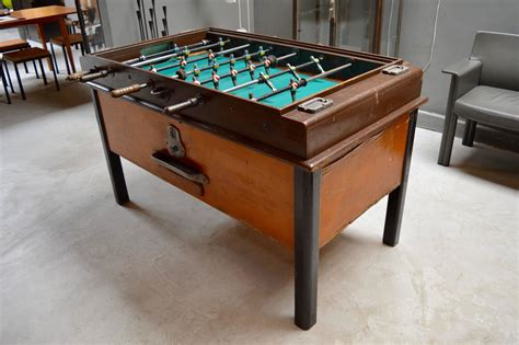 Foosball Table For Sale by Mid Century Foosball Table For Sale At 1stdibs