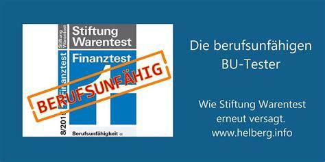 Autoversicherungen Test 2015 by Bu Test 2015 Stiftung Warentest Zeigt Sich Berufsunf 228 Hig