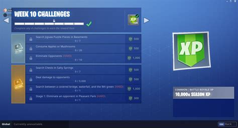fortnite challenges for season 5 fortnite season 5 week 10 leaked challenges fortnite