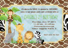 Undangan Ulang Tahun Birthday Invitation Numnoms ataro designs desain ulang tahun anak tema stiker label ulang tahun anak