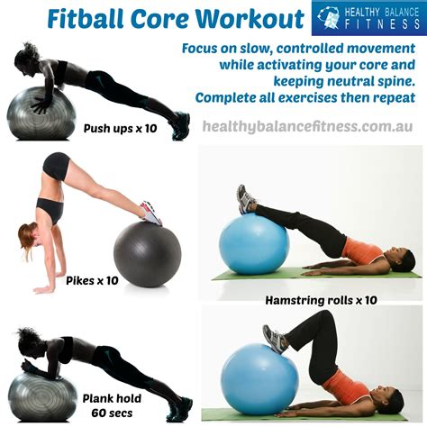 workout increase stability and strength with this fitball workout strong is the