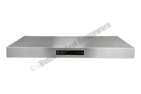 stainless steel under cabinet range hood 30 quot stainless steel under cabinet range hood kitchen fan 6