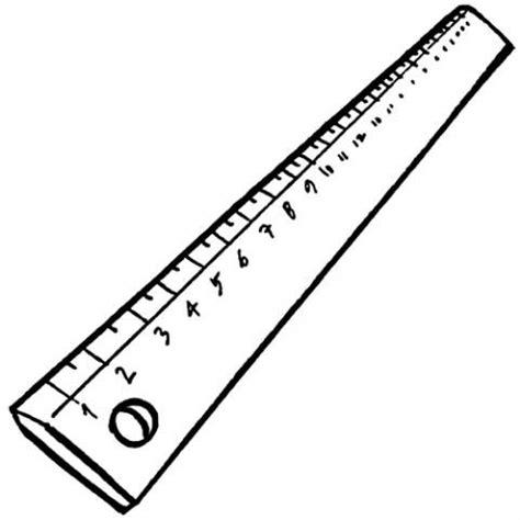 figuras de reglas en pulgadas sin centimetros regla dibujos para colorear