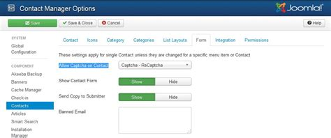 recaptcha themes list stop spam on joomla using recaptcha