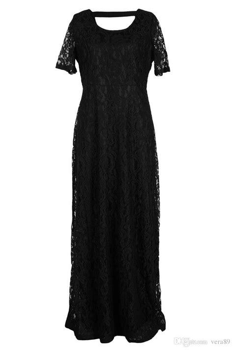 9XL Wedding Dress Plus Size Maxi Dress Long Little Black Lace Dresses 5xl 6xl 7XL 8XL Mother Of
