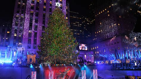 2014 Holiday Events In New York City 171 Cbs New York Lighting Of Tree Nyc 2014