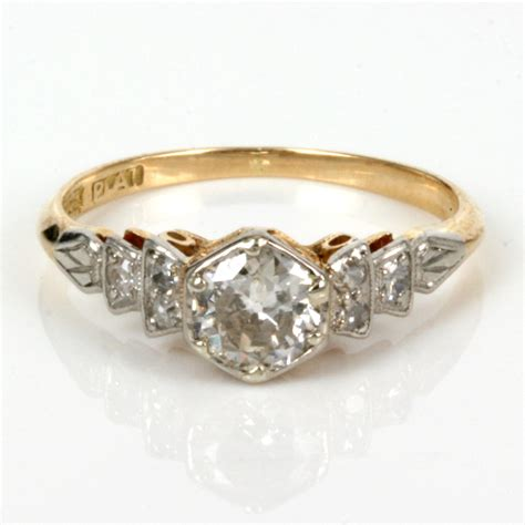 Antique Engagement Rings by Buy Antique Engagement Ring In Gold And Platinum