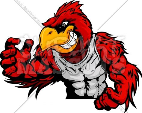 cardinal wrestling graphic vector logo