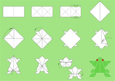 Easy Steps To Make Origami - origami paper folding step by step easy origami