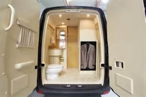 Hidden Interior Door Armored Luxury Sprinter Van