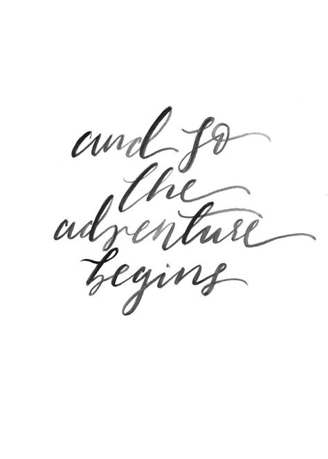 printable short quotes adventure begins print nursery decor inspirational and
