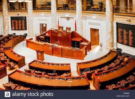 arkansas house of representatives house of representatives chamber inside the arkansas state capitol stock photo