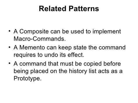 command pattern unit of work command pattern geoff burns 2006 nov