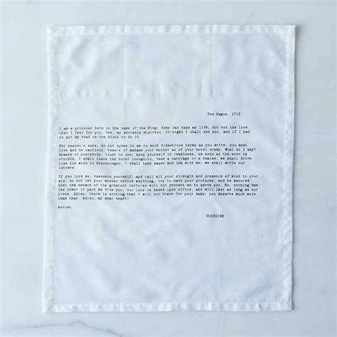 letter napkins set of 4 on food52