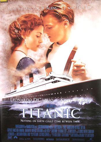 film titanic blue titanic 1997 leonardo di caprio 40x60 unrevised