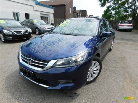 obsidian blue color 2013 obsidian blue pearl honda accord ex sedan 113999472