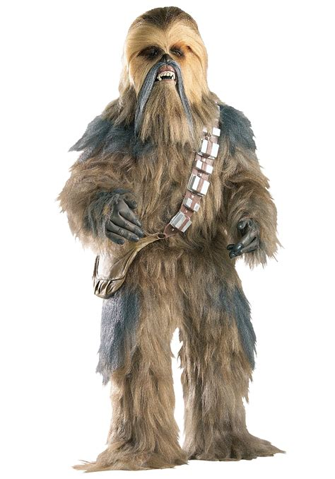 wookie costume authentic chewbacca costume real replica official wars costume