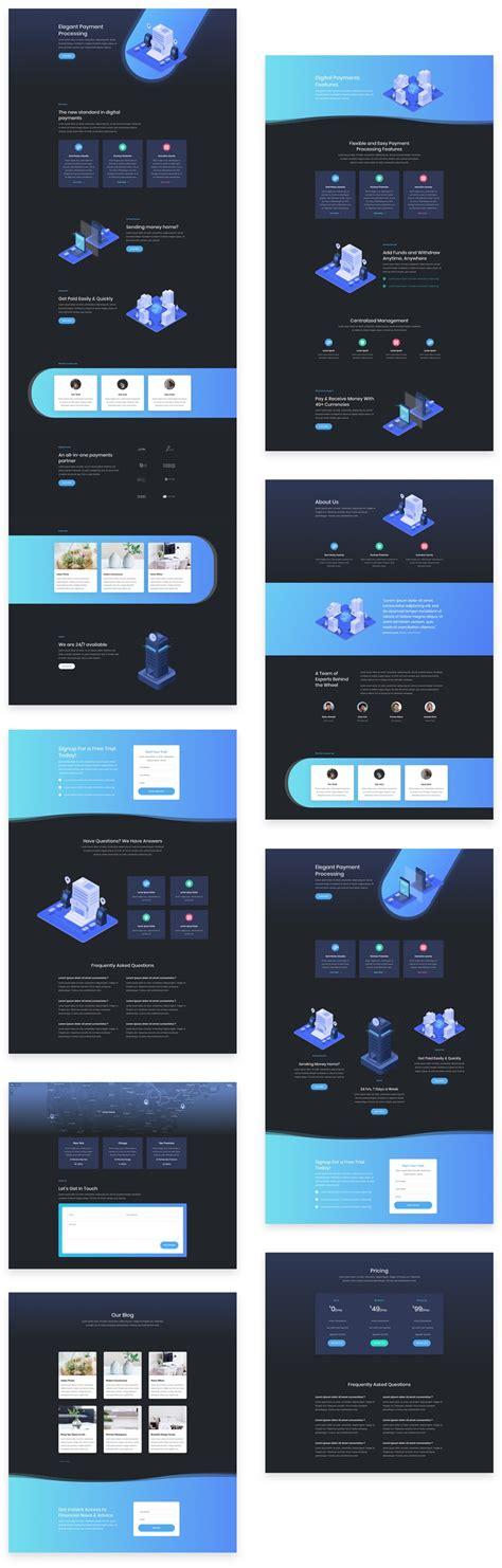 download layout divi super stylish and unique divi layout pack for digital
