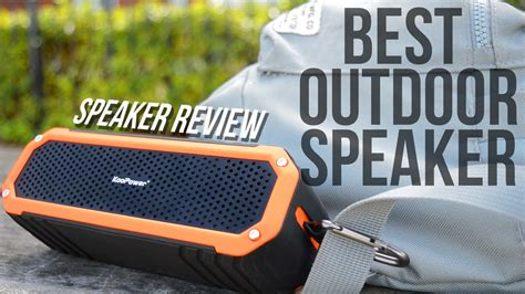 best troline reviews for your backyard best outdoor bluetooth speaker sound test review