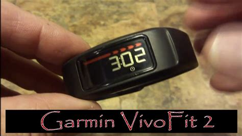 reset time on vivofit 2 garmin vivofit 2 battery change review youtube