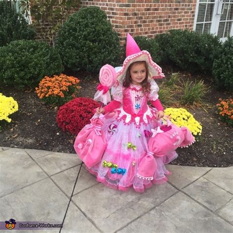 candy witch baby girls costume photo