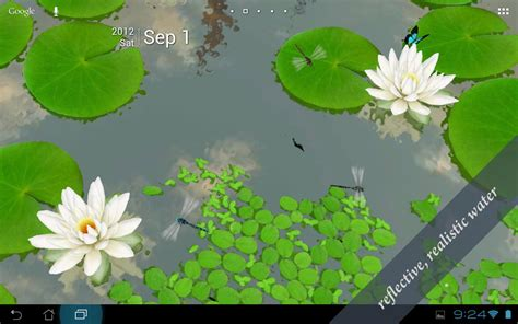 wallpaper 3d lotus 3d lotus live wallpaper aplicaciones de android en