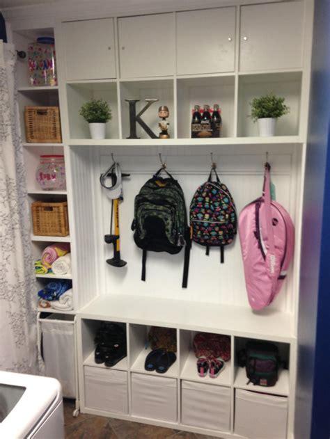 Kallax Shoe Storage by Mudroom Laundry Room Or Entryway Organization Cubbies