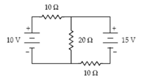 the current through the 20 ohm resistor does not change what is the magnitude of the current in the 20 ohm chegg