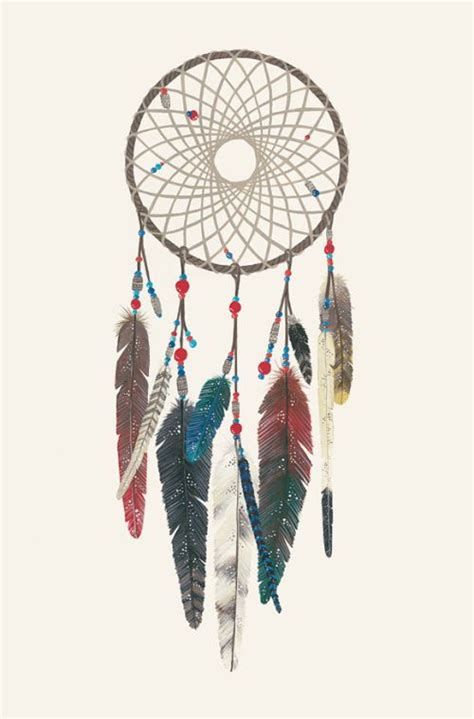 one more dream catcher drawing