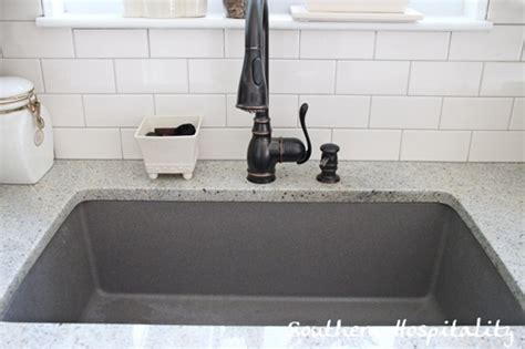 grey kitchen sink blanco metallic gray sink southern hospitality