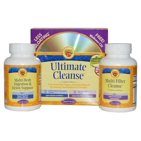 Ultimate Detox Cleanse by Nature S Secret Ultimate Cleanse 120 120 Kit