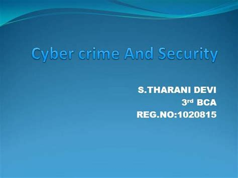 Cyber Crime And Security Authorstream Cyber Crime Ppt Templates Free