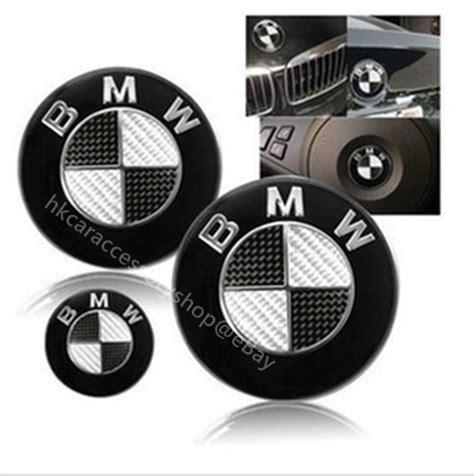 carbon fiber bmw emblem bmw carbon fiber emblem trunk emblem steering wheel