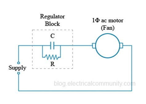 capacitor fan regulator circuit diagram ceiling fan regulators conventional vs electronic electricalcommunity